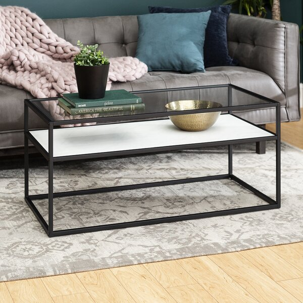 Carterville Frame Coffee Table With Storage By Brayden Studio