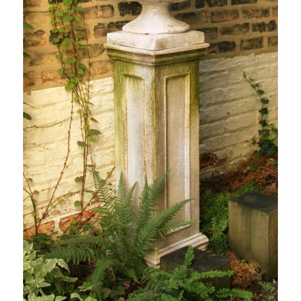 Panel Plant Pedestal Stand by OrlandiStatuary