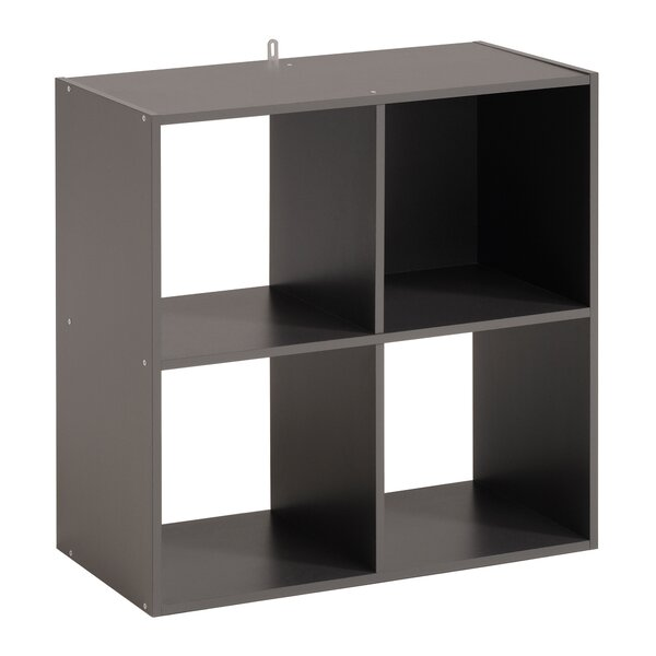 Aarav 4 Cube Unit Bookcase by Ebern Designs