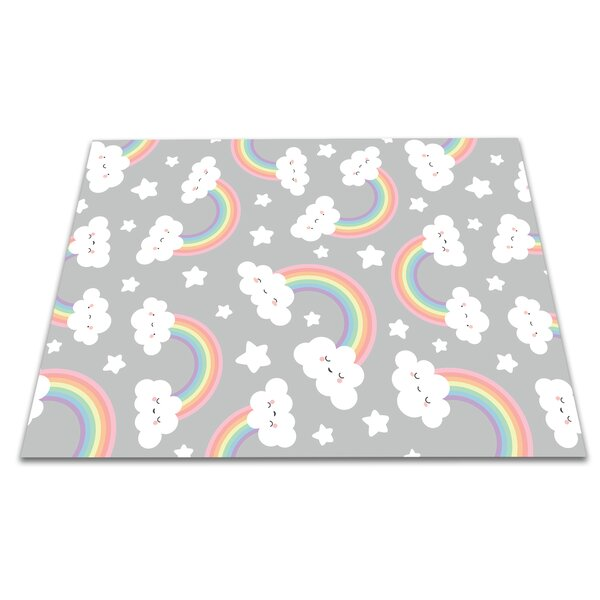 Dedrick Rainbow Kitchen Mat