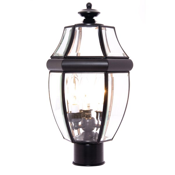 Lavergne Creek Outdoor 3-Light Lantern Head by Three Posts