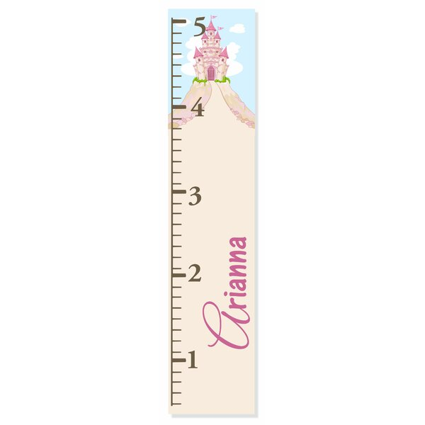 Castle Growth Chart by Decor Designs  Decals