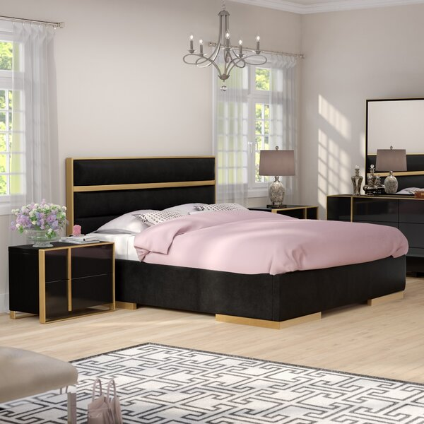 Nuri King Platform Configurable Bedroom Set by Willa Arlo Interiors