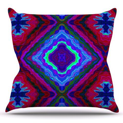 Kilim by Nina May Outdoor Throw Pillow by East Urban Home