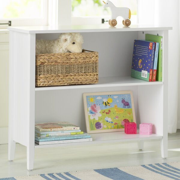 Brennan 2-Tier Standard Bookcase by Viv + Rae