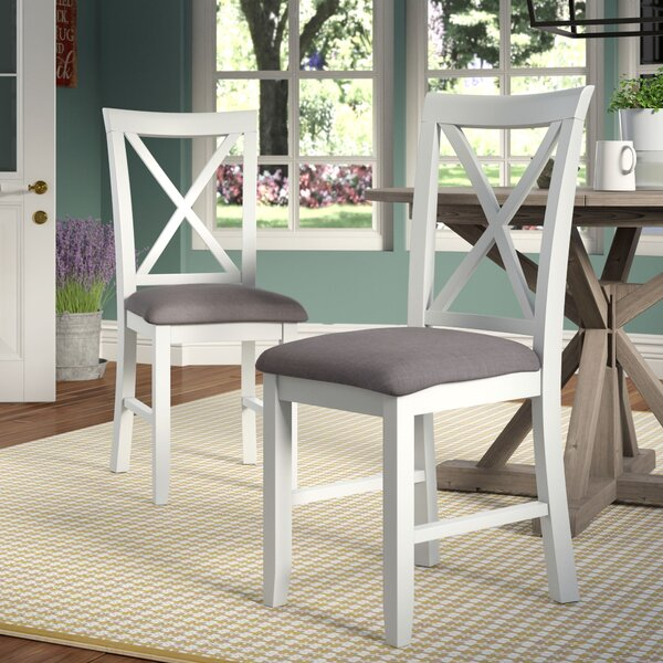 Amaury Upholstered Dining Chair (Set of 2) by Laurel Foundry Modern Farmhouse
