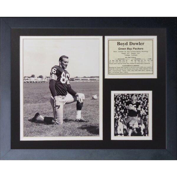 Boyd Dowler Framed Memorabilia by Legends Never Die