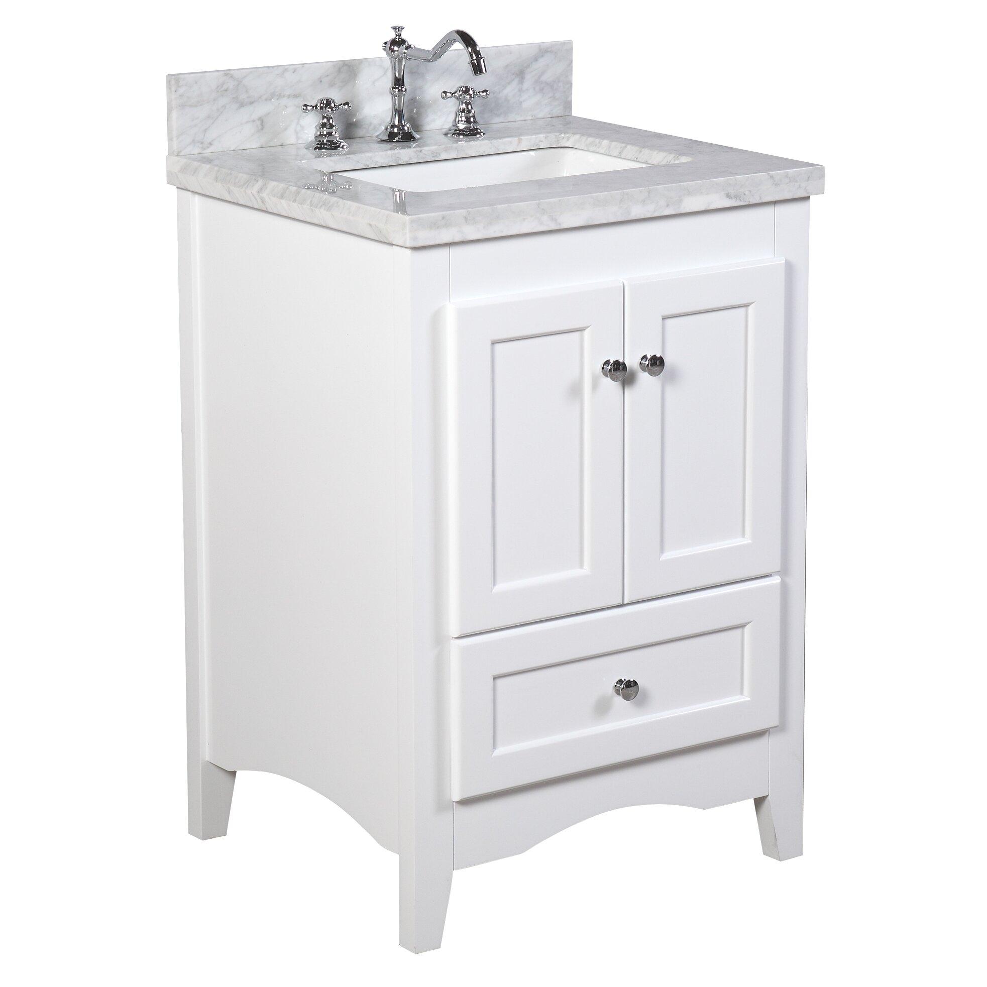 "KBC Abbey 24"" Single Bathroom Vanity Set & Reviews"