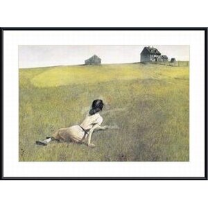 Christina's World by Andrew Wyeth Framed Painting Print by Printfinders