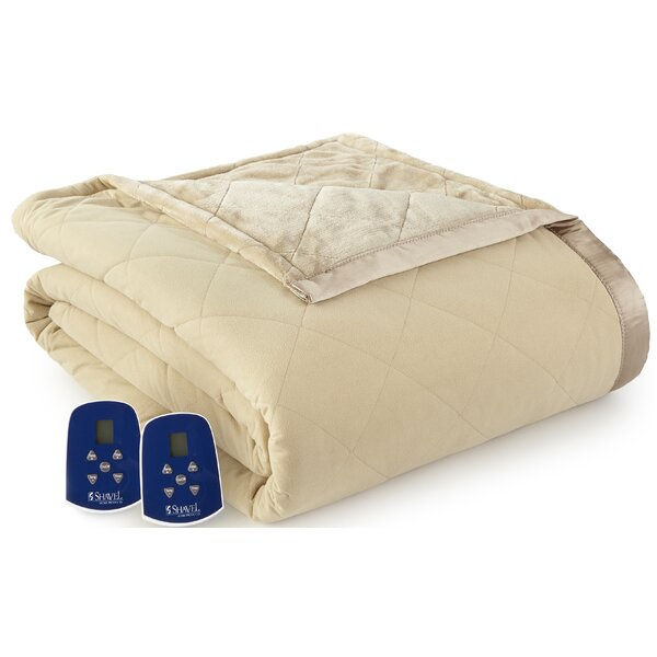 Riddles Electric Heated Blanket by Winston Porter