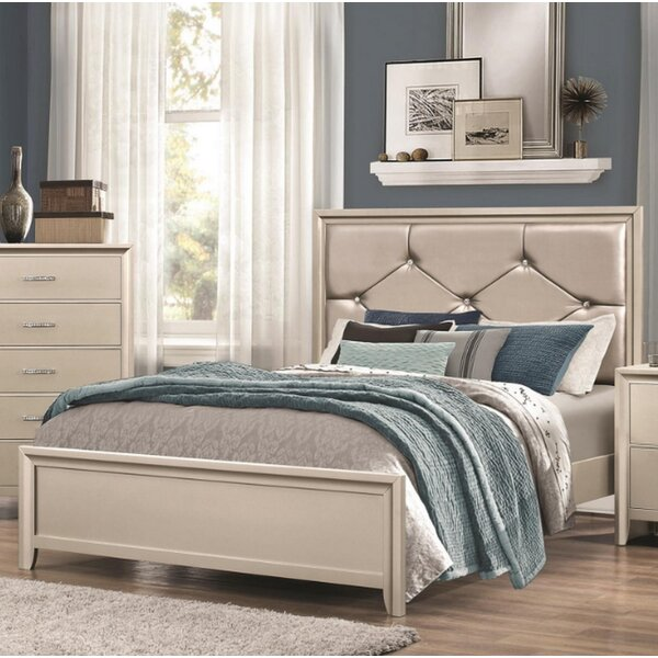 Cirillo Upholstered Standard Bed by House of Hampton