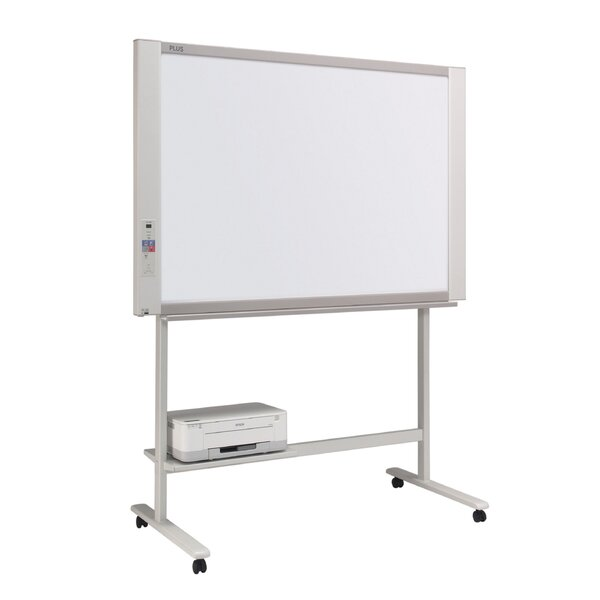 2 Panel Electronic Copyboard Wall Mounted Reversible Interactive Whiteboard by Plus Boards