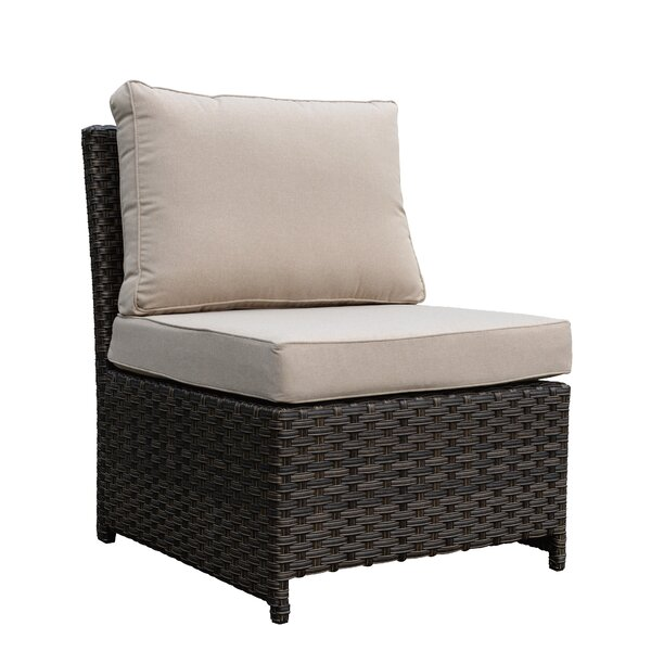 Hefley Chair with Cushion by Latitude Run