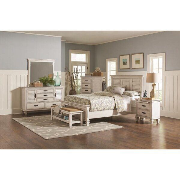 Friddle Panel Configurable Bedroom Set by Highland Dunes