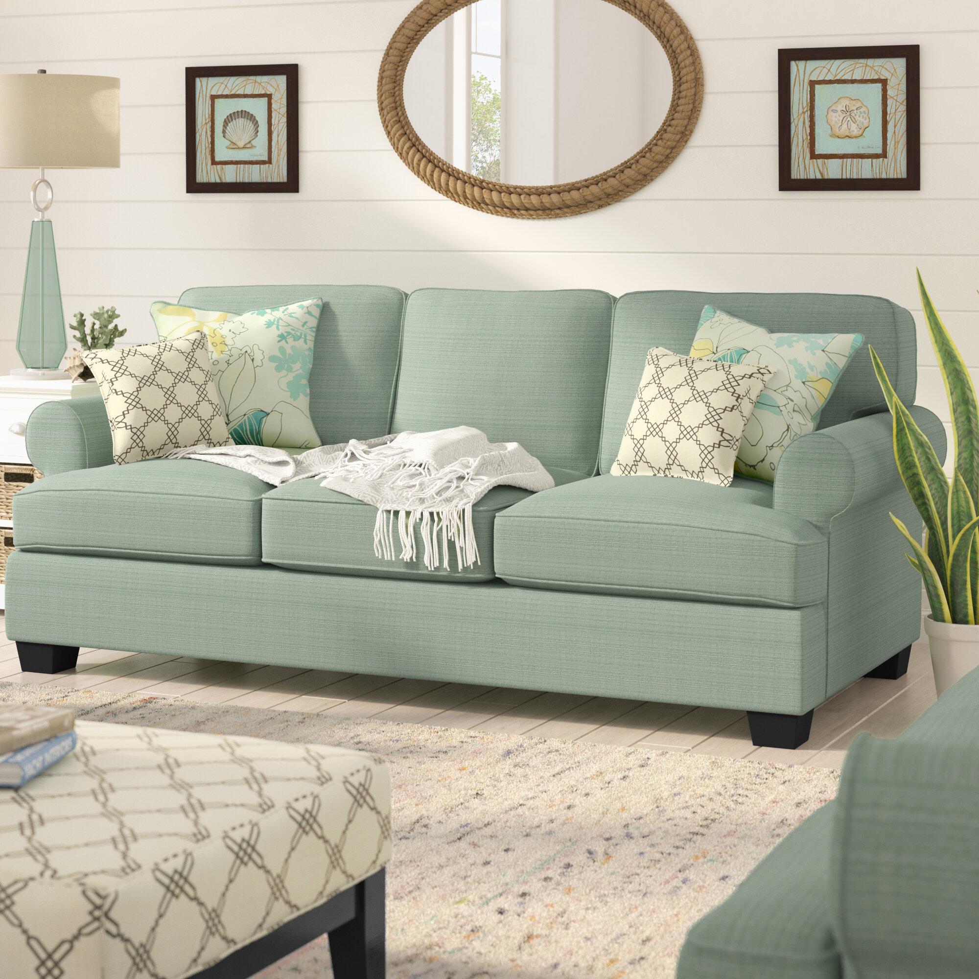 Beachcrest Home Inshore Queen Sleeper Sofa Reviews Wayfair
