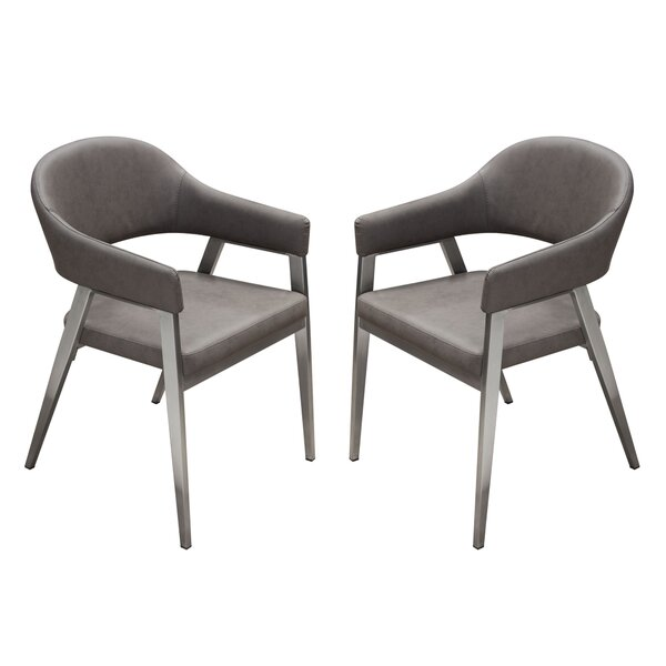 Adele Upholstered Dining Chair (Set of 2) by Diamond Sofa