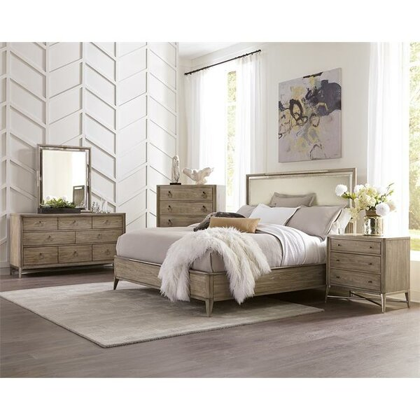 Almazan Upholstery Panel Configurable Bedroom Set by One Allium Way