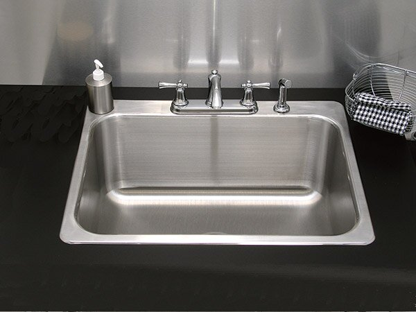 Single Bowl Drop-In Kitchen Sink by A-Line by Advance Tabco