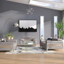 Corelle Leather Sofa Set