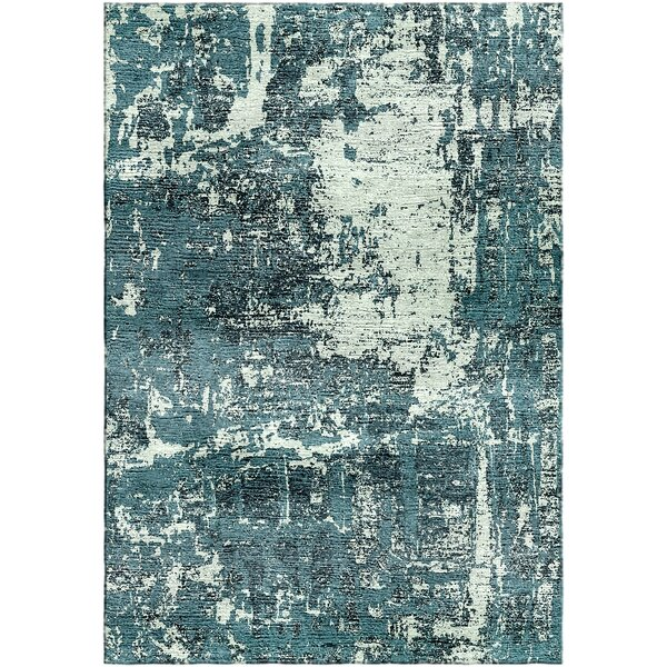Ashford Handloom Green/Blue Area Rug by Ivy Bronx