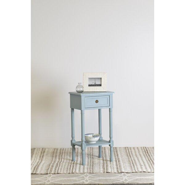 Alexzander End Table with Storage by Ophelia & Co. Ophelia & Co.