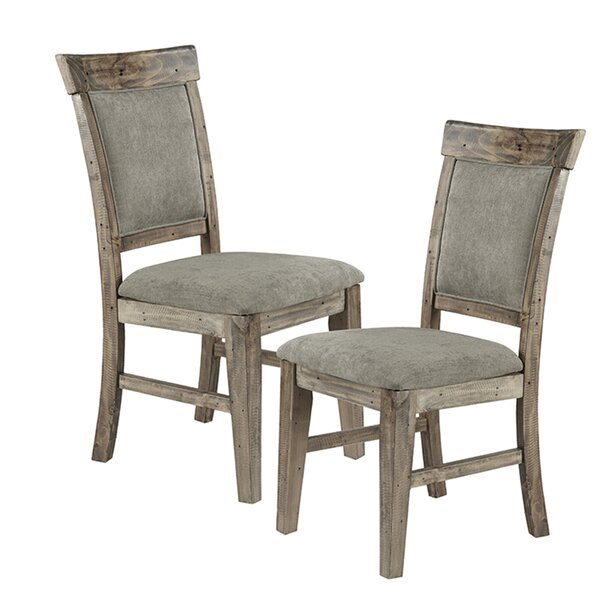 Casimir Upholstered Dining Chair (Set of 2) by Gracie Oaks