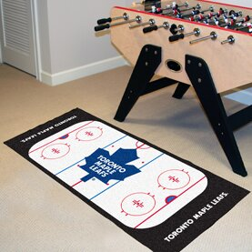 NHL - Toronto Maple Leafs Rink Runner Doormat by FANMATS
