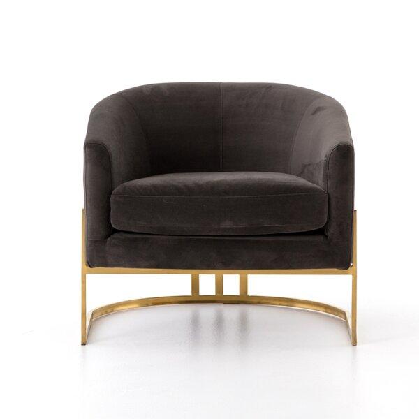 Kora Barrel Chair by Everly Quinn