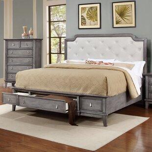 Palmisano Upholstered Storage Platform Bed by One Allium Way