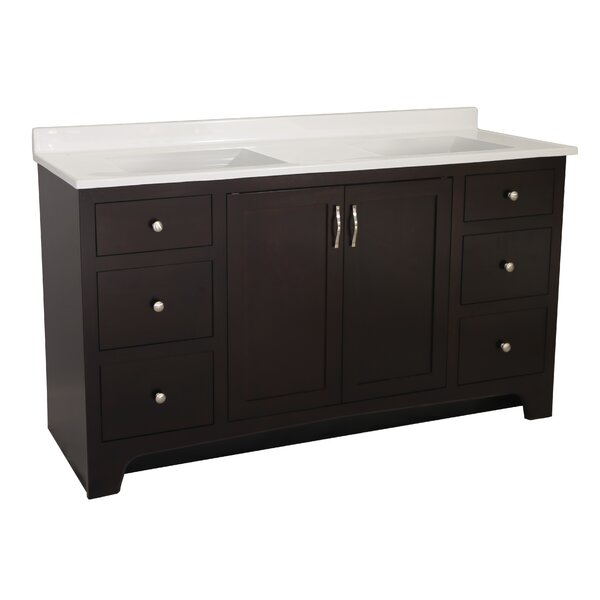 Steubenville -Door 61 Double Bathroom Vanity by Andover Mills