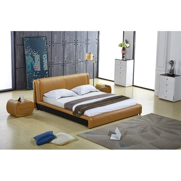 Delozier Upholstered Platform Bed by Orren Ellis