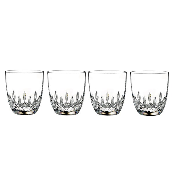 Lismore Encore 10 oz. Crystal Every Day Glass (Set of 4) by Waterford