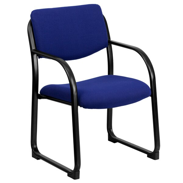 Side Chair with Steel Frame by Symple Stuff