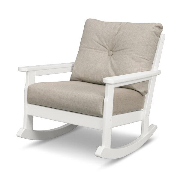 Vineyard Deep Seating Rocking Chair by POLYWOOD®