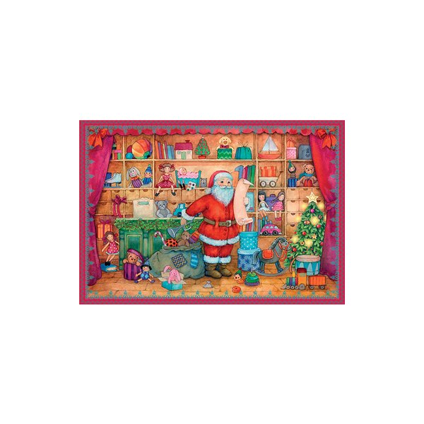 Sellmer Santa Toy Shop Advent Calendar by The Holiday Aisle