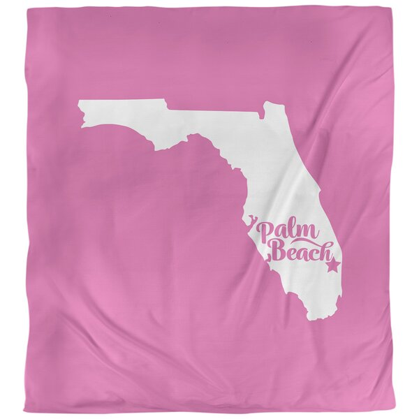 Palm Beach Florida Duvet Cover