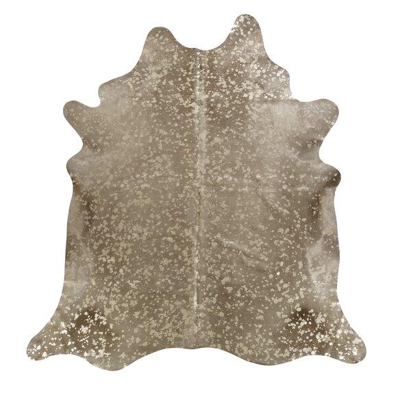 Devore Metallic Sand Area Rug by Saddlemans