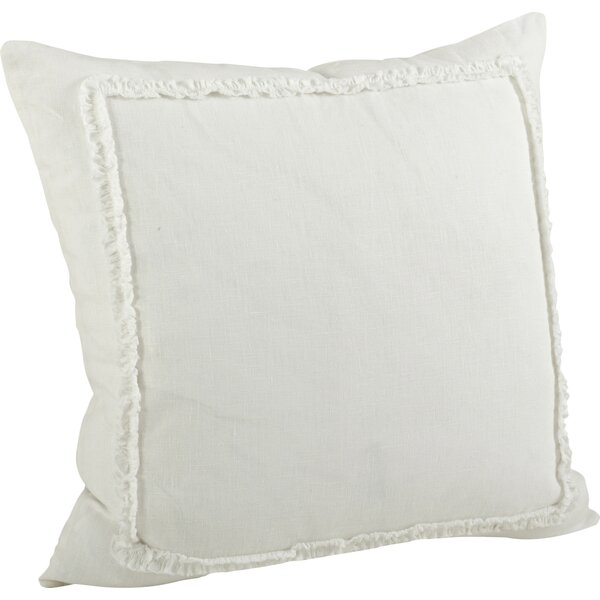 Argelis Ruffled Cotton Throw Pillow by Birch Lane™
