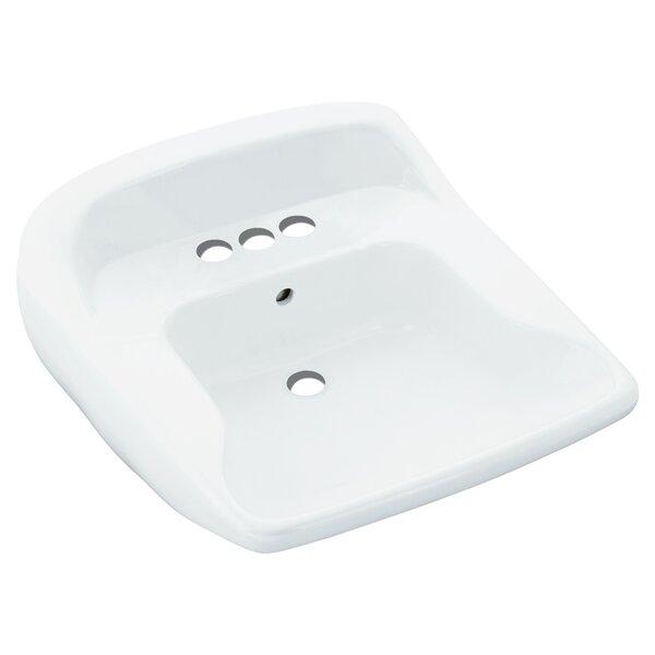 Worthington Ceramic 21 Wall Mount Bathroom Sink by Sterling by Kohler