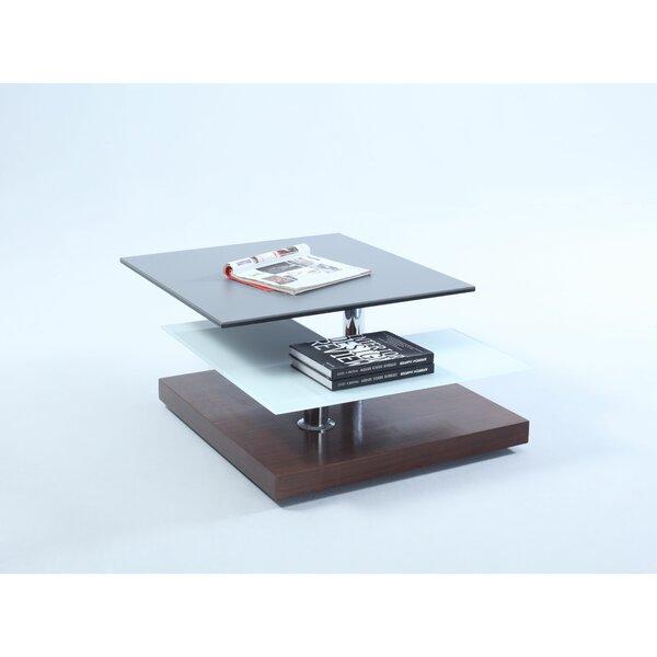 Beckenham Pedestal Coffee Table With Storage By Orren Ellis