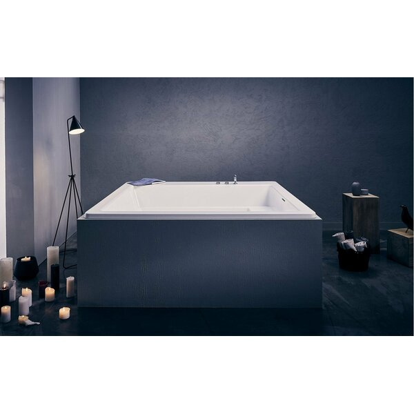 Lacus 70 x 70 Soaking Bathtub by Aquatica