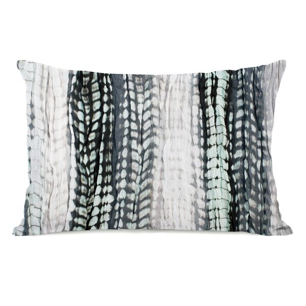 Dye Pattern Sky Lumbar Pillow by One Bella Casa
