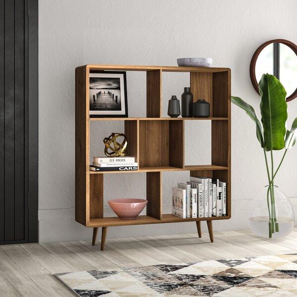 Chapple Geometric Bookcase By Mercury Row