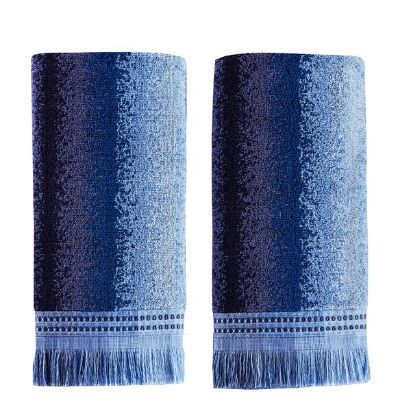 Averie Cotton Hand Towel (Set of 2) by Bungalow Rose