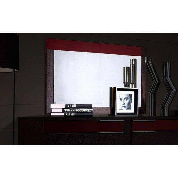 Chou Rectangular Dresser Mirror by Orren Ellis