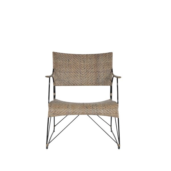 Zen Outdoor Lounge Chair by Bungalow Rose Bungalow Rose