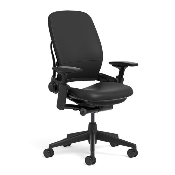 Leap® Leather High-Back Desk Chair by Steelcase