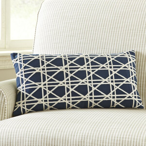 Emma Jute Lumbar Pillow Cover by Birch Lane™