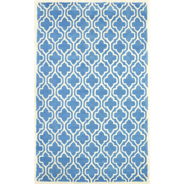 Venice Hand-Tufted Light Blue Area Rug by nuLOOM