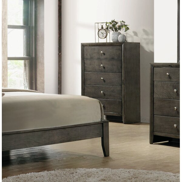 Winfrey 5 Drawer Chest By Foundry Select by Foundry Select Discount